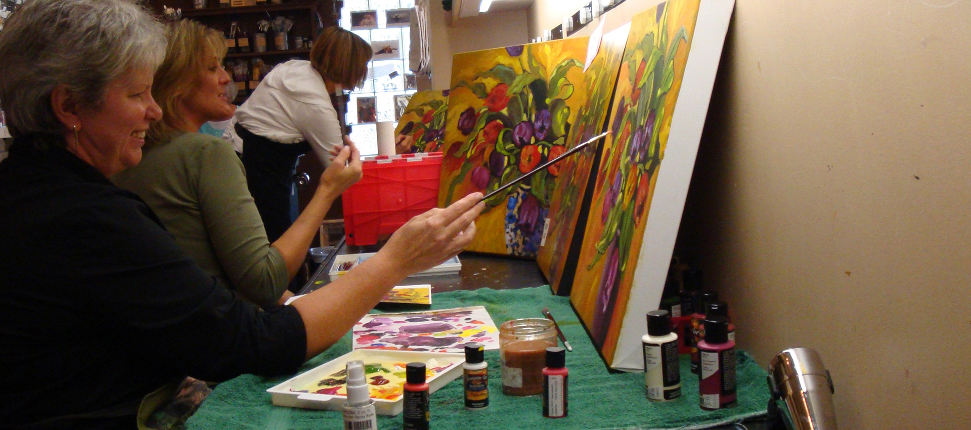 Students Painting 4